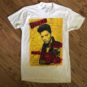 Bruno Mars Moonshine Jungle tour shirt